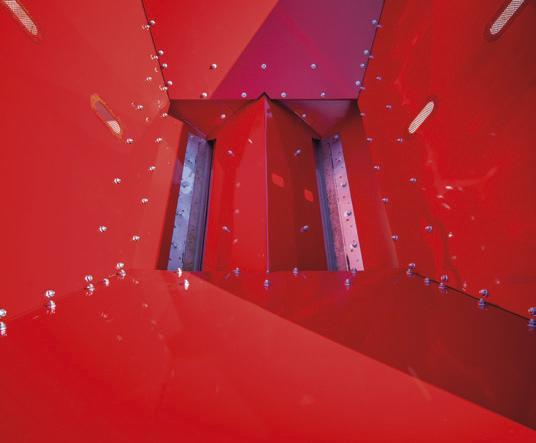 kosz zasypowy z magnesami do wyłapywania metalu