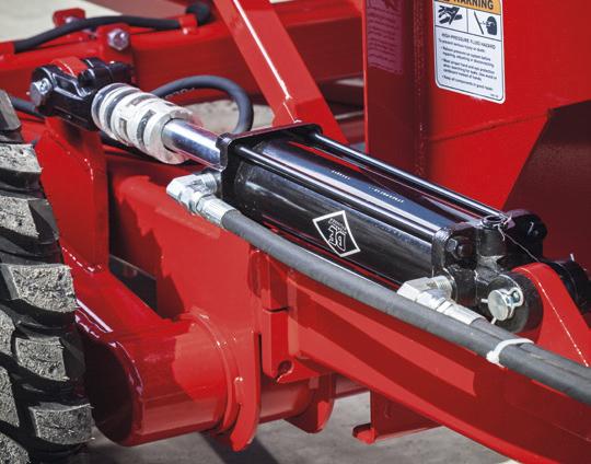hydrauliczne ustawienie wysokości maszyny