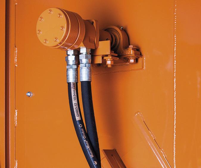 silnik hydrauliczny do napędu roztrząsaczy