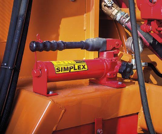 hydrauliczna pompa do ustawiania siły nabicia w rękawie