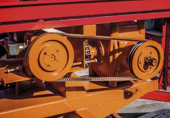 przekładnia do napędu rotora krata oporowa winda do zakładania rękawów stół przyjęciowy z roztrząsaczami niezależna hydraulika