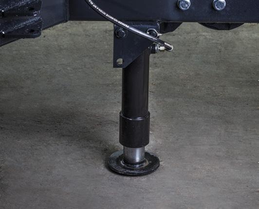 hydrauliczna stopa do podtrzymania maszyny