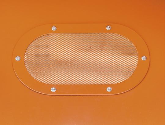 okienko do odpowietrzania podczas załadunku