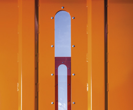 okienka inspekcyjne w koszu zasypowym