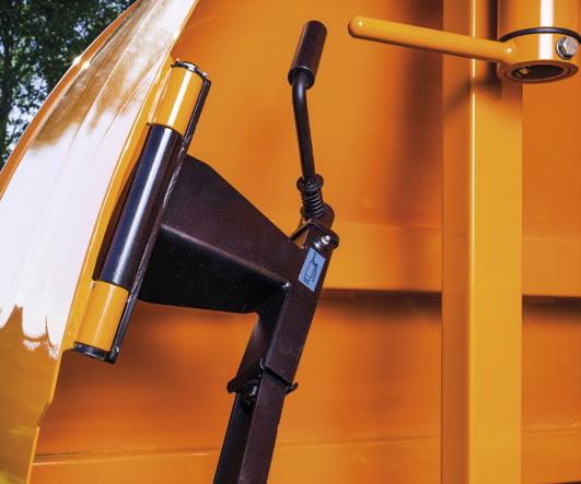 mechanizm do podnoszenia półki od rękawa