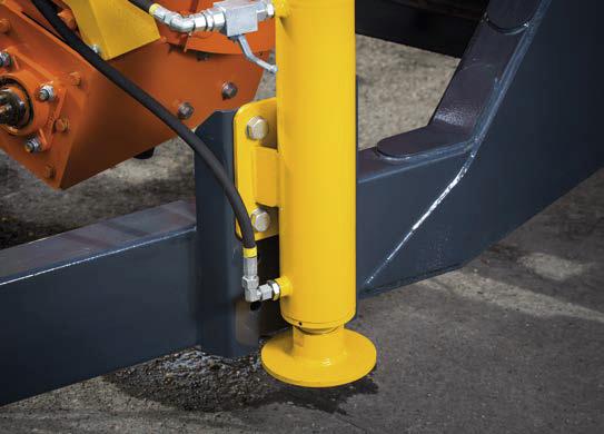 stopa podporowa hydrauliczna