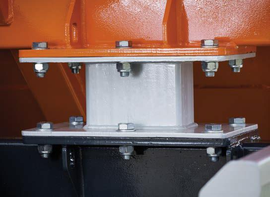 podparcie kontenera umożliwiające montaż wagi